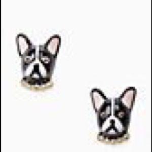 Kate Spade Ma Cherie Antoine Dog Studs NWT